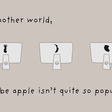 apple cartoon